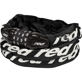 Red Cycling Products Secure Chain Cykellås Kan nulstilles, black